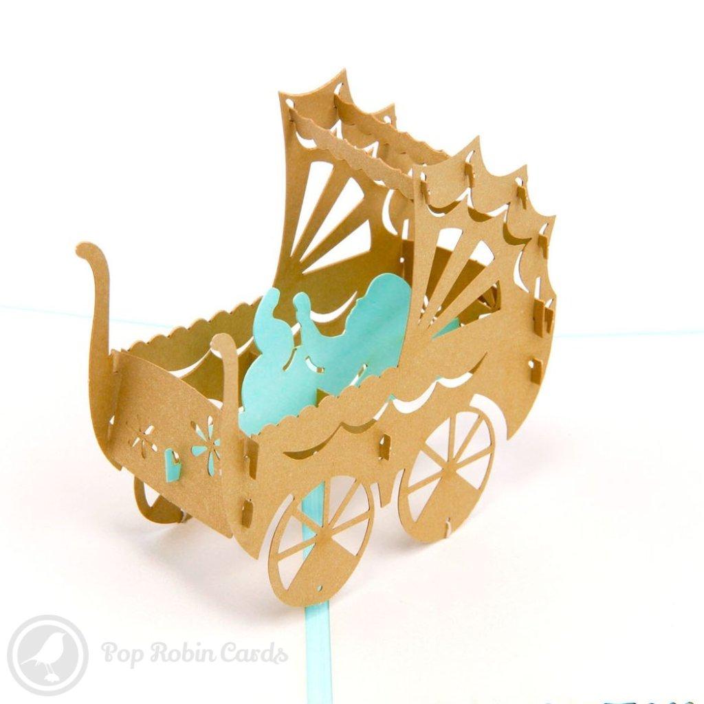 Congratulations New Baby Handmade 3D Pop-Up Card #1620