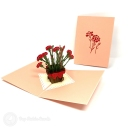 3D Pop-Up Greetings Card #3806