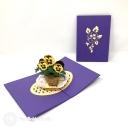 3D Pop-Up Greetings Card #3810