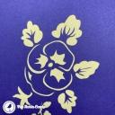 Basket Of Yellow Pansies 3D Pop Up Handmade Greetings Card #3811
