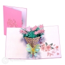 3D Pop-Up Greetings Card #2788