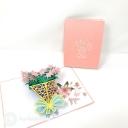 3D Pop-Up Greetings Card #3873