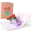 3D Pop-Up Greetings Card #2774