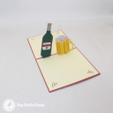3D Pop-Up Greetings Card #3082