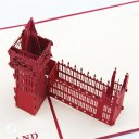 Big Ben Tower Handmade 3D Pop-Up Card #2641
