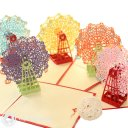 Big Ferris Wheel 3D Pop-Up Greetings Card 1580