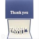 3D Pop-Up Greetings Card #3287