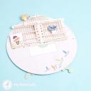 Birds Delivering Letters To Birdcage Handmade 3D Pop Up Card #2950