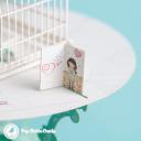 Birds Delivering Letters To Birdcage Handmade 3D Pop Up Card #2951