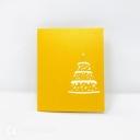 3D Pop-Up Greetings Card #3775