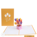 3D Pop-Up Greetings Card #3196