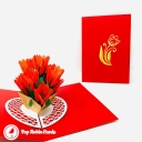3D Pop-Up Greetings Card #3785