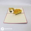 3D Pop-Up Greetings Card #3252