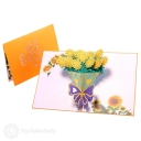 3D Pop-Up Greetings Card #2780