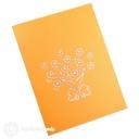 Bursting Yellow Sunflower Bouquet 3D Pop-Up Card #2781