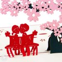 Cherry Blossoms 3D Pop-Up Greeting Card 1543