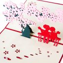 Cherry Blossoms 3D Pop-Up Greeting Card 1547