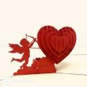 Cherub Love Handmade 3D Pop-Up Card #3866
