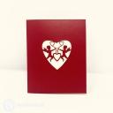 Cherub Love Handmade 3D Pop-Up Card #3868