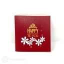 3D Pop-Up Greetings Card #3836