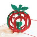 Christmas Apple 3D Pop Up Greetings Card 1775