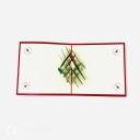 Christmas Candle & Holly 3D Pop Up Handmade Card #3618