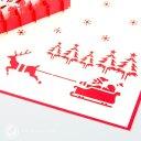 Christmas Eve Handmade 3D Pop-Up Card #2322