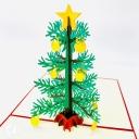 Christmas Tree 3D Handmade Pop Up Christmas Card #3601