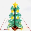Christmas Tree 3D Handmade Pop Up Christmas Card #3665