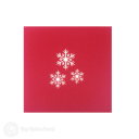 Christmas Snowflake Handmade 3D Card #3411