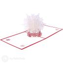Christmas Snowflake Handmade 3D Card #3415