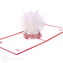 Christmas Snowflake Handmade 3D Card #3416
