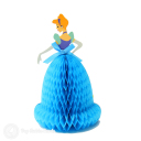 Cinderella In Blue Dress 3D Pop-Up Card #2929
