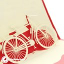 Classic Bike 3D Pop Up Greeting Card 1682