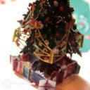 Colourful Christmas Tree & Presents Handmade 3D Pop-Up Christmas Card #2389