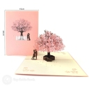 3D Pop-Up Greetings Card #2806