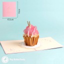 3D Pop-Up Greetings Card #3002