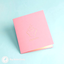 Sweet Pink Cupcake Handmade 3D Pop Up Card #3004