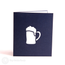 Dad Loves Beer Handmade Pop Up Card #3124