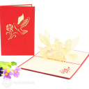 3D Pop-Up Greetings Card #2923