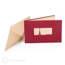 Eiffel Tower & France 3D Pop-Up Architecture Card #2793