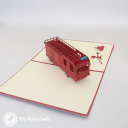 3D Pop-Up Greetings Card #3236