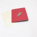 Football Friendly Match Handmade 3D Pop Up Card #3025