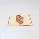 Football Player Scoring A Goal 3D Pop Up Card #3072