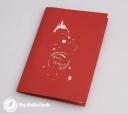 Tinkerbell Fairy Happy Birthday Handmade 3D Birthday Card #2981