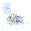 3D Pop-Up Greetings Card #3376