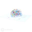 Happy Birthday Streamers 3D Handmade Card #3379