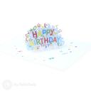 Happy Birthday Streamers 3D Handmade Card #3381