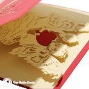 Heart-felt Angels 3D Pop Up Greetings Card 1686