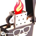 Heisenberg Lighter with Flame Handmade 3D Pop-Up Card #2132